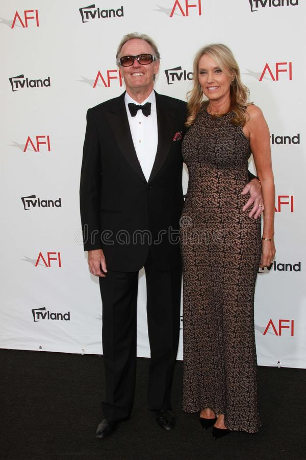 Peter Fonda At The AFI Life Achievement Award Honoring Shirley MacLaine, Sony Pictures Studios, Culver City, CA 06-07-12 Editorial Photography