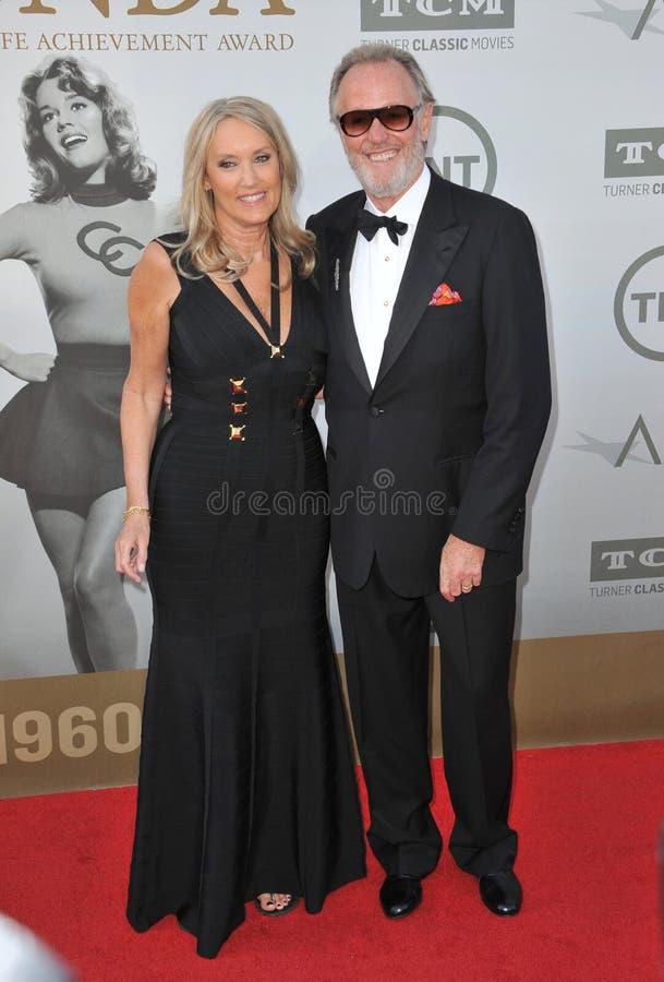 Download Peter Fonda Y Margaret DeVogelaere Imagen editorial - Imagen de sleeveless, personalidad: 44857620
