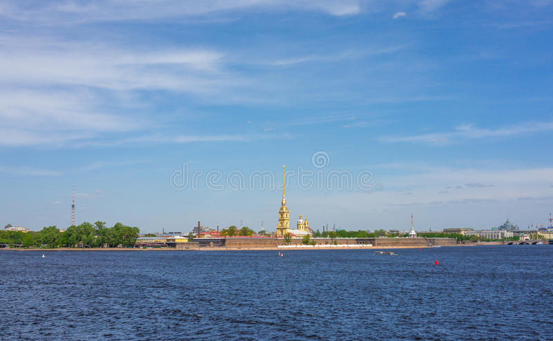 Peter Fortress, St Petersburg stockfotos