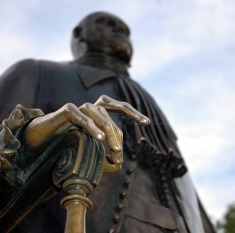 Peter the Great royalty free stock photos