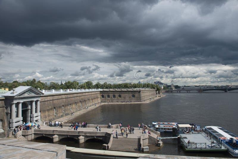 Peter i Paul bastion w Sankt Petersburg zdjęcie royalty free