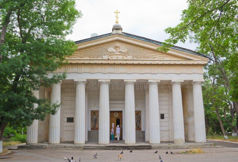 Peter i Paul katedra w Sevastopol obrazy royalty free