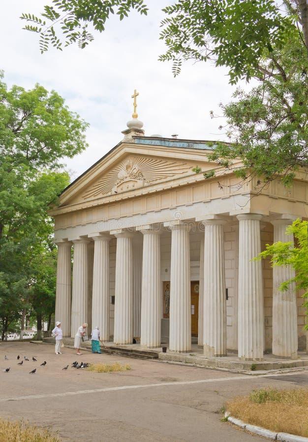 Peter i Paul katedra w Sevastopol zdjęcia stock