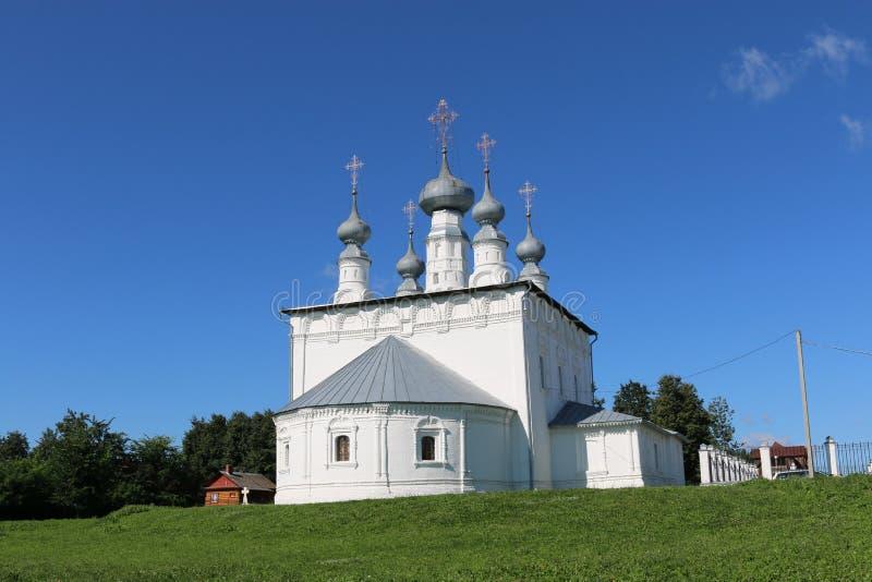 Peter i Paul kościół w Suzdal zdjęcia stock