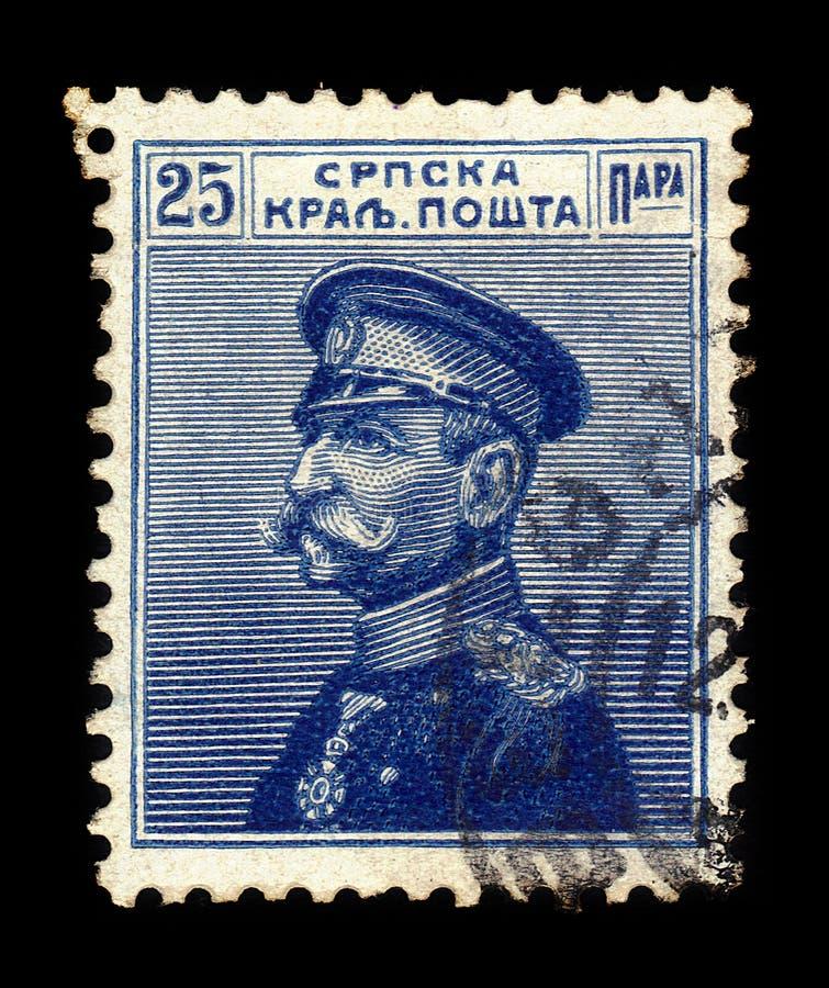Peter I, rey de Serbia imagen de archivo