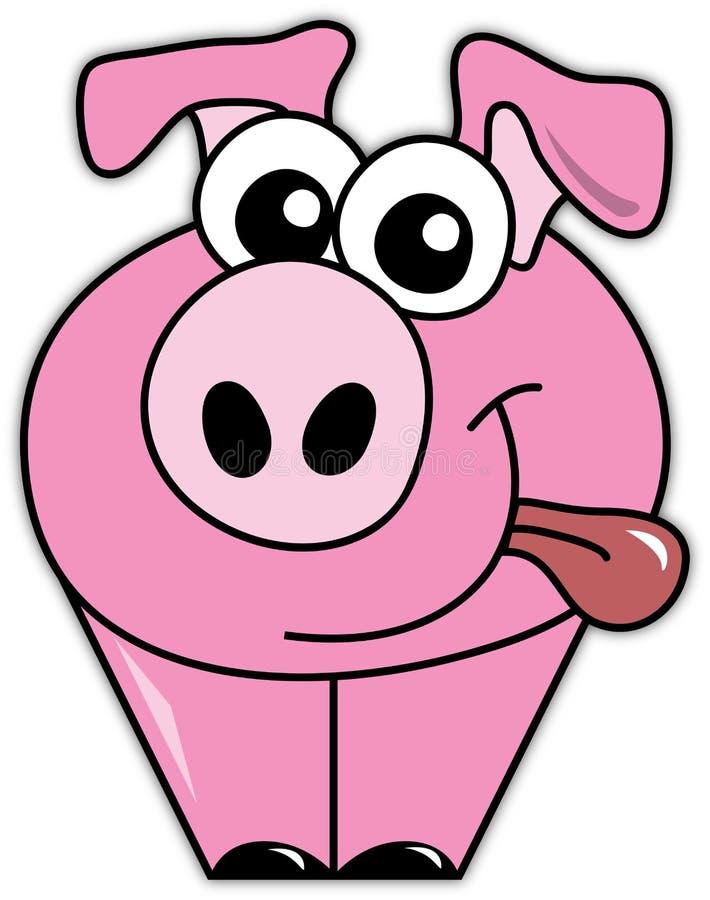 Peter il maiale illustrazione vettoriale