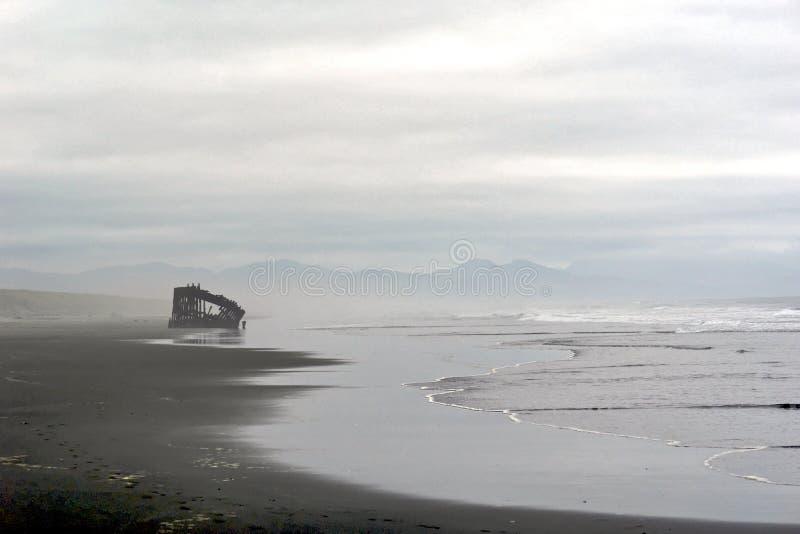 Peter Iredale Wreck stock fotografie
