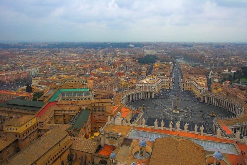 peter jest plac świętego Rzymu fotografia royalty free