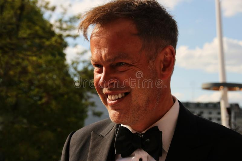 Peter Jones the entrepreneur and television personality. stock photography