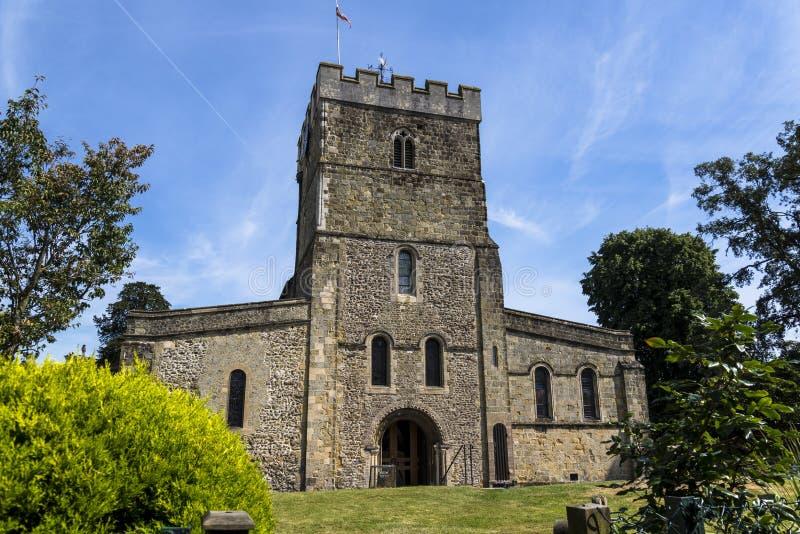 Peter kyrka, Petersfield, Hampshire, England, UK fotografering för bildbyråer