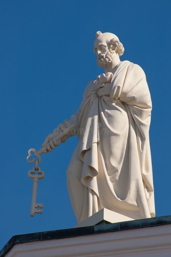 Peter l'apôtre image libre de droits