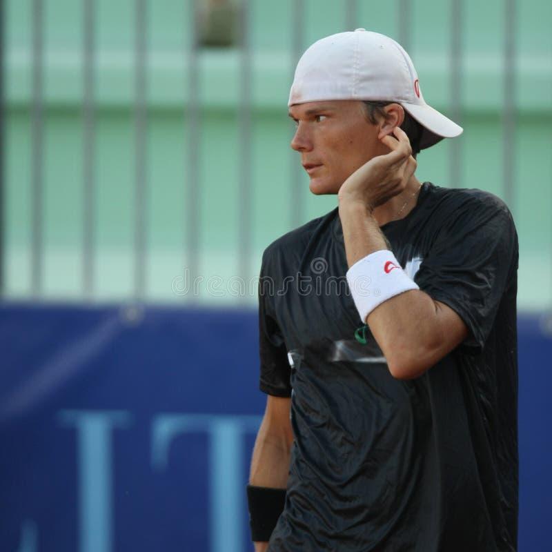 PETER LUCZAK, ATP TENNIS PLAYER royalty free stock image