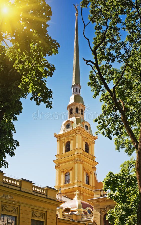 Download Peter and Paul Cathedral stock image. Image of cityscape - 25646785