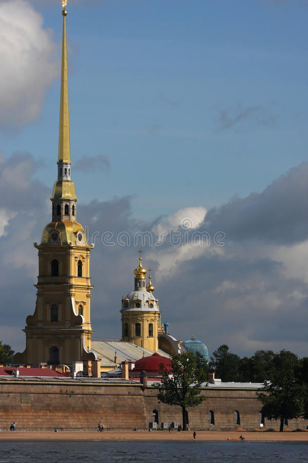 Download Peter and Paul Cathedral stock photo. Image of fortress - 26597754