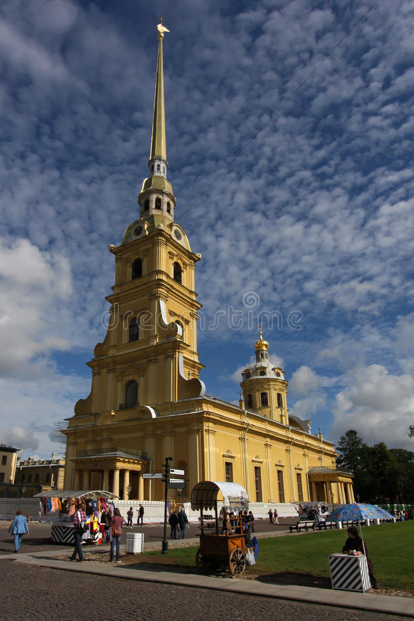 Peter And Paul Cathedral Editorial Image