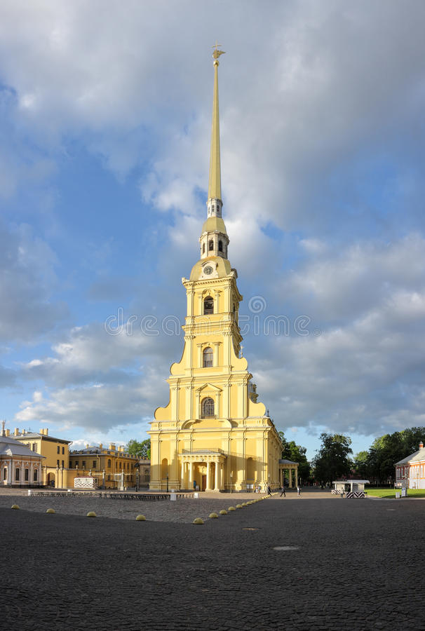 Peter and Paul Cathedral stock photography