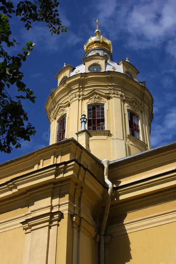 Download Peter And Paul Cathedral Tower Stock Image - Image: 26597789