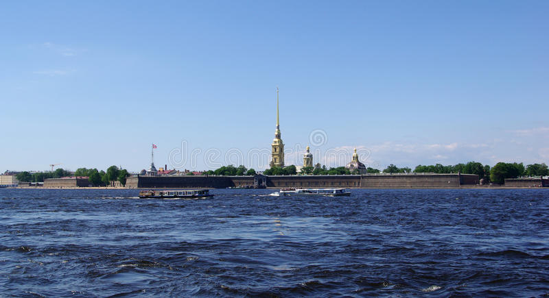 Download The Peter And Paul Fortress Stock Photography - Image: 16598332