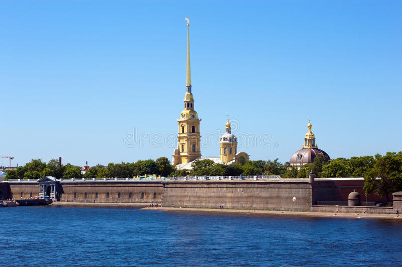 Download The Peter And Paul Fortress Stock Photo - Image: 20099496