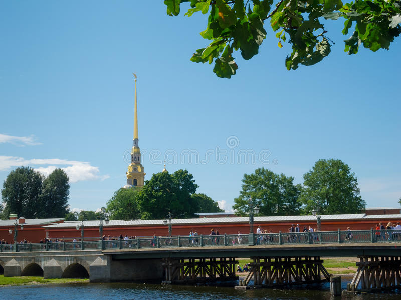 Download The Peter And Paul Fortress Stock Image - Image: 26038249