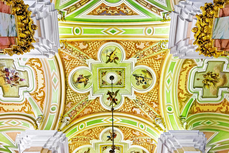 Download Peter And Paul Fortress. Interior. Stock Photo - Image of bastion, church: 26186856