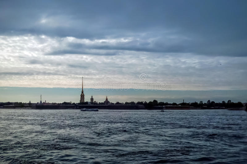 The Peter-Paul Fortress stock photo