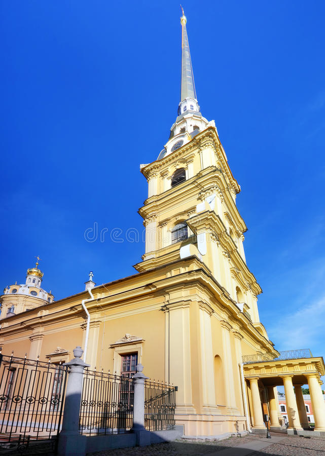 Peter And Paul Fortress. Saint-Petersburg Royalty Free Stock Images