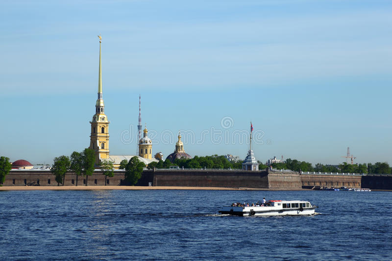 Peter and Paul Fortress, St. Petersburg royalty free stock image
