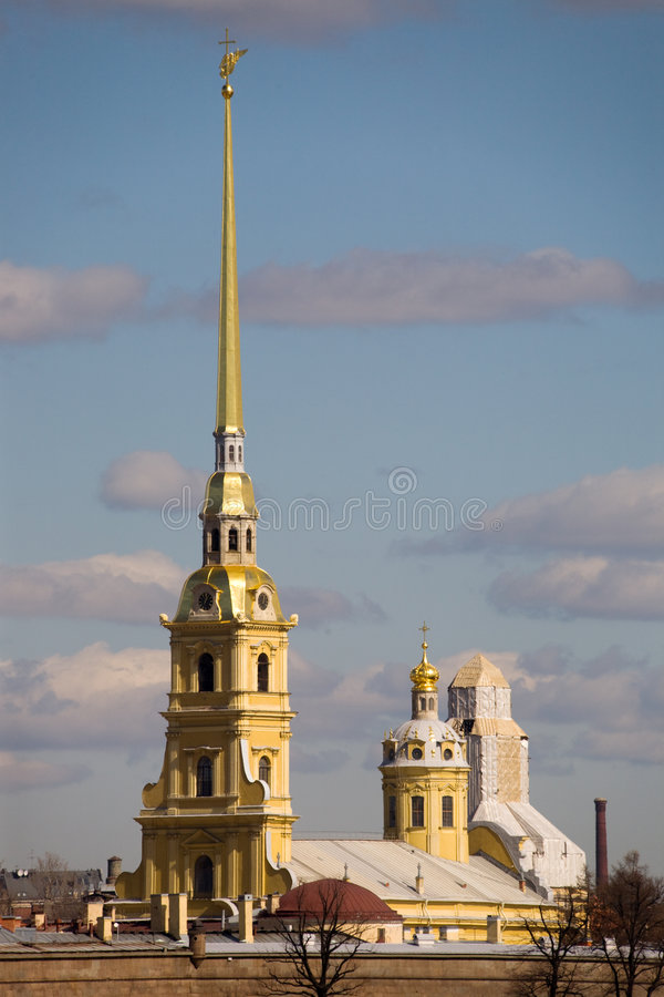 Peter and Paul's Fortress stock photo