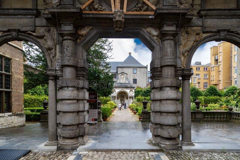 Peter Rubens House in Antwerpen stock afbeelding