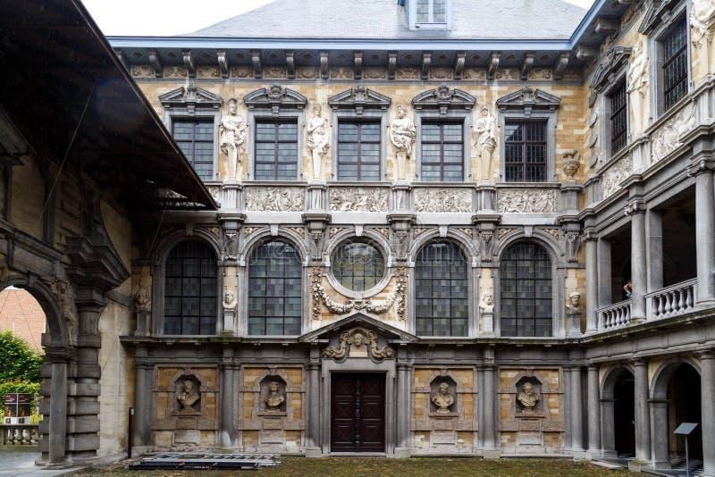 Peter Rubens House em Antuérpia fotografia de stock