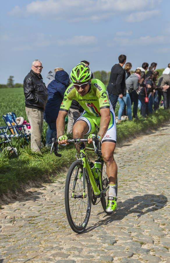 Peter Sagan- Paryski Roubaix 2014 zdjęcie stock