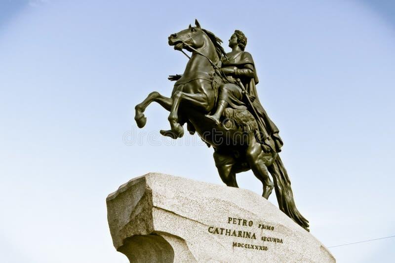 Peter standbeeld stock foto