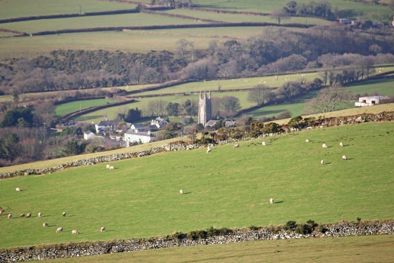 Peter Tavy, Dartmoor fotos de archivo libres de regalías