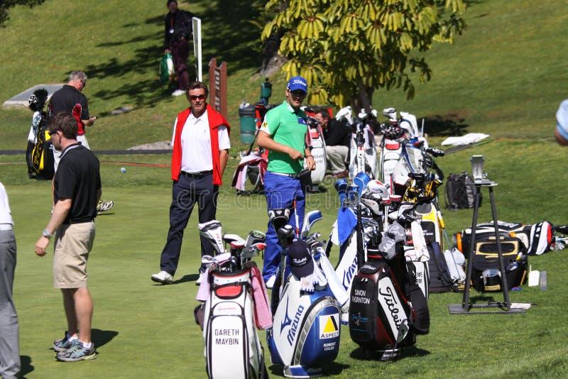 Peter Witheford no golfe aberto, Marbella de Andalucia imagens de stock royalty free