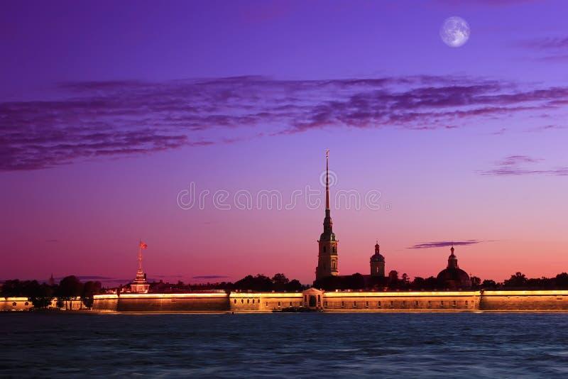 Peter y Paul Fortress, St Petersburg, Rusia imagen de archivo libre de regalías