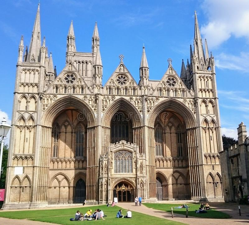 Peterborough Cathedral royalty free stock photography