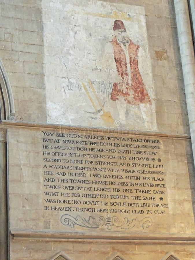 Peterboroughkathedraal royalty-vrije stock foto's