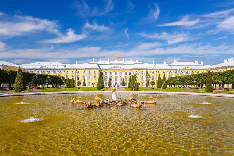 Peterhof, Αγία Πετρούπολη