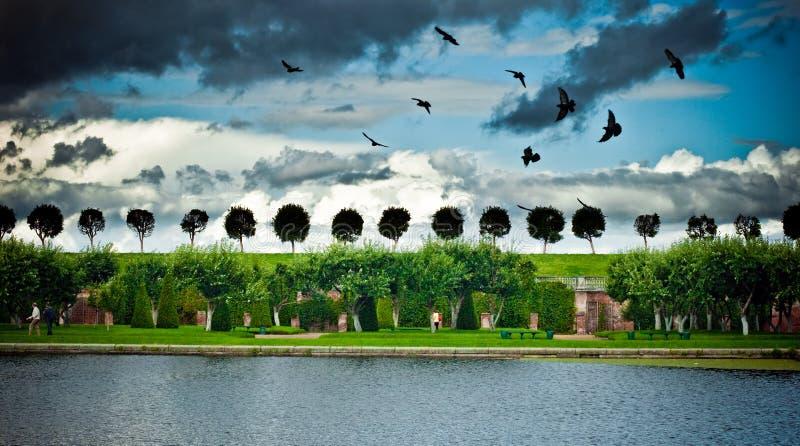 Peterhof fotografía de archivo