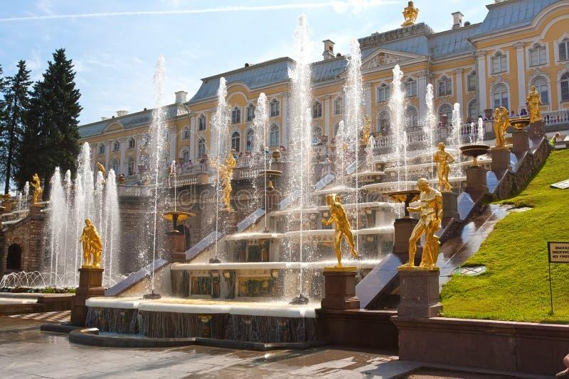 Peterhof fotografia royalty free