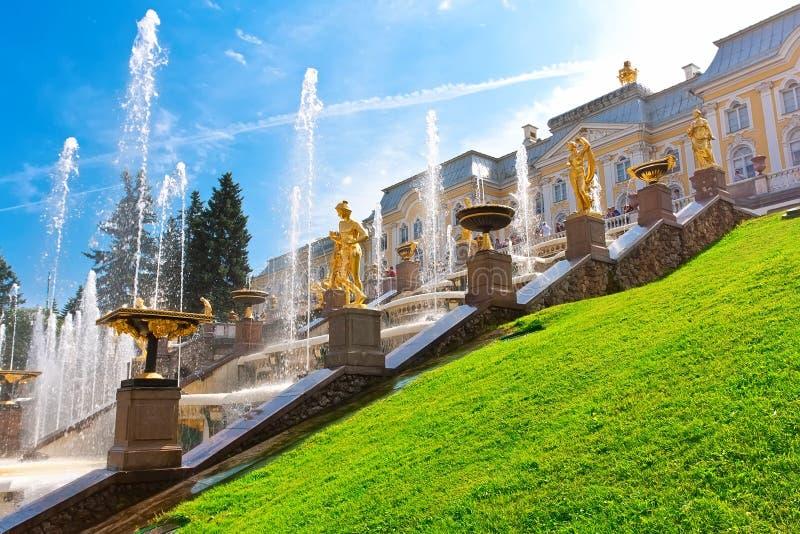 Peterhof zdjęcie royalty free