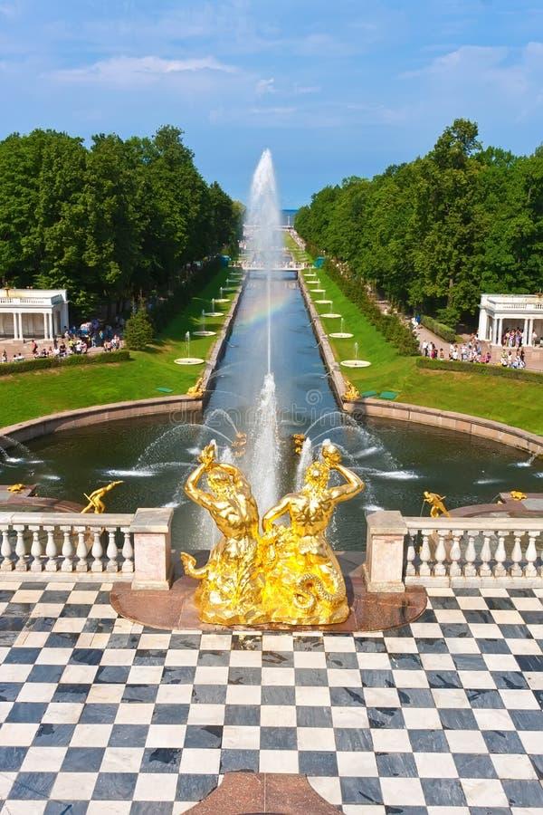 Peterhof obrazy royalty free