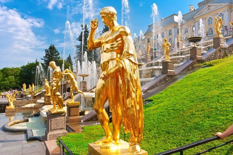 Peterhof obraz royalty free