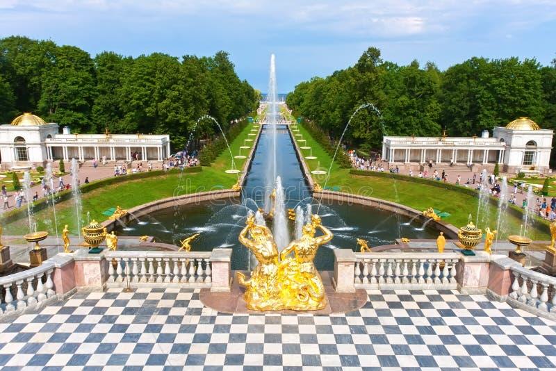 Peterhof zdjęcie stock
