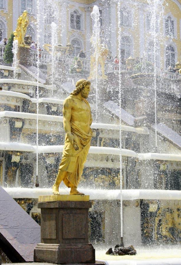 Download Peterhof. Grand Cascade. Stock Photo - Image: 17464330