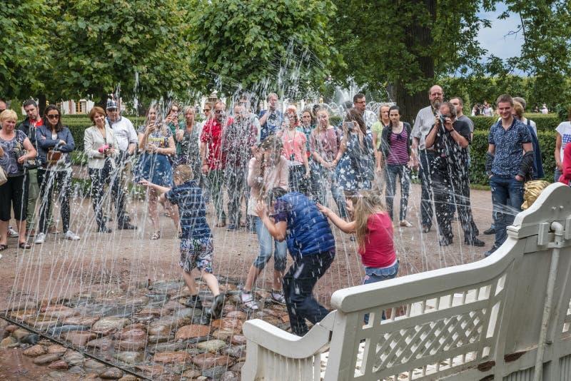 Peterhof royalty free stock photos