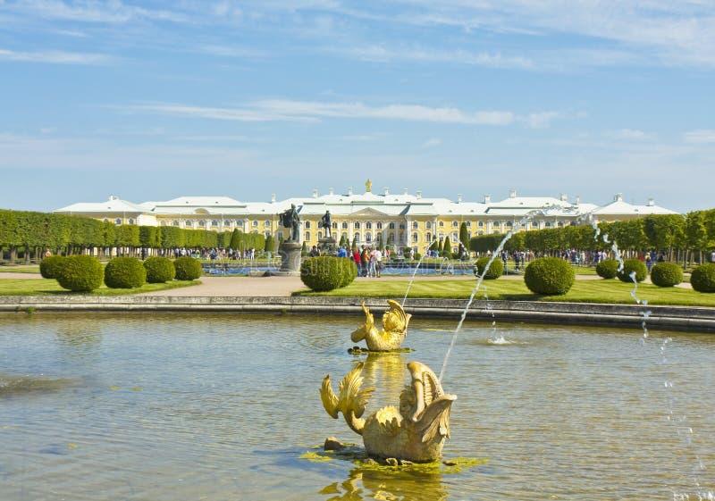 Peterhof, Russia Immagine Editoriale