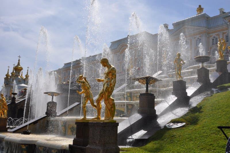 Peterhof stock photos