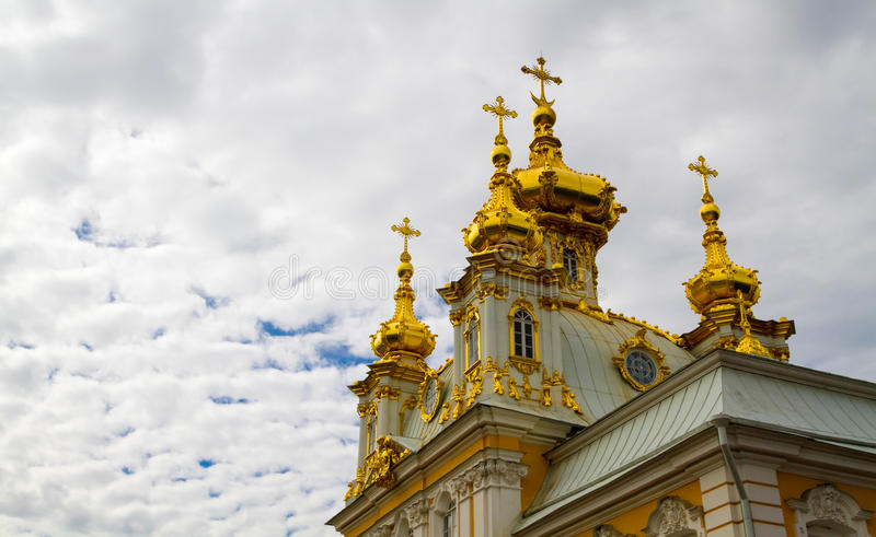 Peterhof, Saint-Petersburg, Russia royalty free stock photography